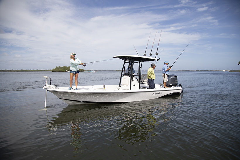 2400 Pure Bay featured on Florida Sportsman BEST BOAT