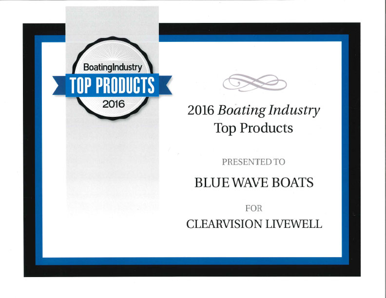 Blue Wave Boats Voted As One Of The Top Products In 2016 By Boating